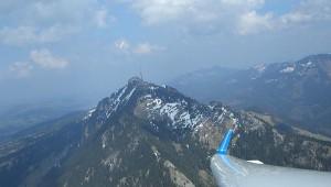 Einer der ersten Flüge der neuen ASW 28-18 E des Luftsportvereins Agathazell e.V. führten Felix Fleischhauer zum Nebelhorn
