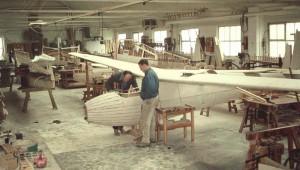 Rohbauhalle 1959