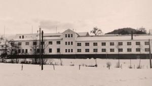 Das Firmengebäude in den 60er Jahren