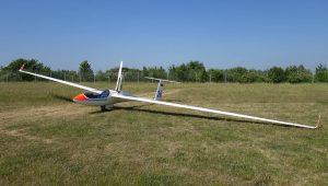 Heinrich Nothdurft fliegt immer wieder gerne seine ASH26E mit der Werk-Nr. 106...