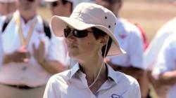 Damen-Weltmeisterin Anne Ducarouge (F) - 9. Platz 15m