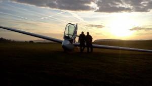 ...die Gelegenheit zu einem unvergesslichen Sunrise-Flug mit der ASK 21 Mi.
