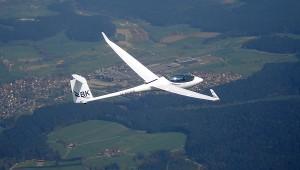 ...und dann mit ASG 29 E über dem Schwarzwald