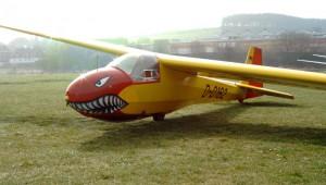 """Die """"K8 mit Biss"""" des Bergischen Luftsportvereins, eingesandt von Fabian von Blücher"""