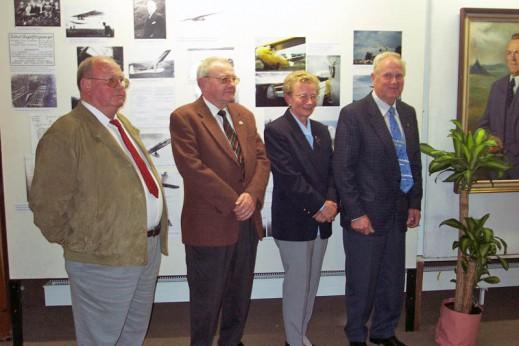 Winfried and Werner Schleicher, Hedwig and Edgar Kremer