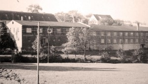 The company building in the 1950s