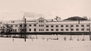 The company building in the 1960s