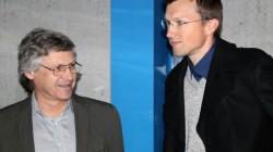 Dipl.-Ing. Martin Heide und Paul Anklam