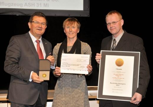 Staatssekretär Franz Josef Pschierer, Ursula und Uli Kremer