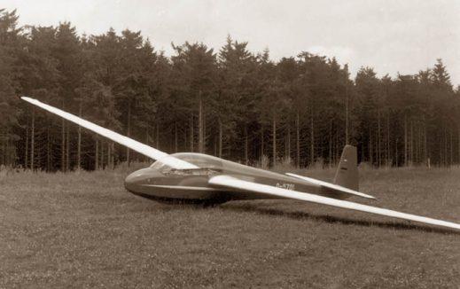 ASK 13 - Werknummer 1 - Foto aus dem Jahre 1966 (Schleicher)