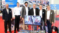 The AS Exhibition team: Ruedi Barth, Paul Anklam, Joschka Schmeisl, Ulrich Kremer, Manfred Münch and Martin Heide