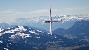 ...von seiner ASG32Mi in den österreichischen Alpen.