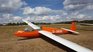 Peter Dresen vom Luftsportring Aalen schickt uns Bilder ihrer ASK13...