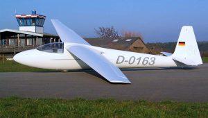 Diese von Thomas Hanusch grundüberholte Ka 6 E fliegt heute in Langenselbold.